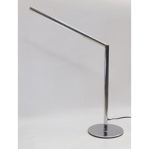 Lámpara escritorio articulada Galaxy, led 3.5w , acero acabado cromo o platil