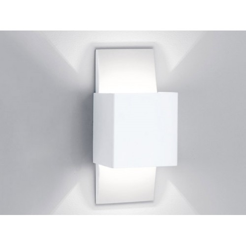 Aplique difusor Kupric, aluminio cepillado, 1 luz G9, apto led