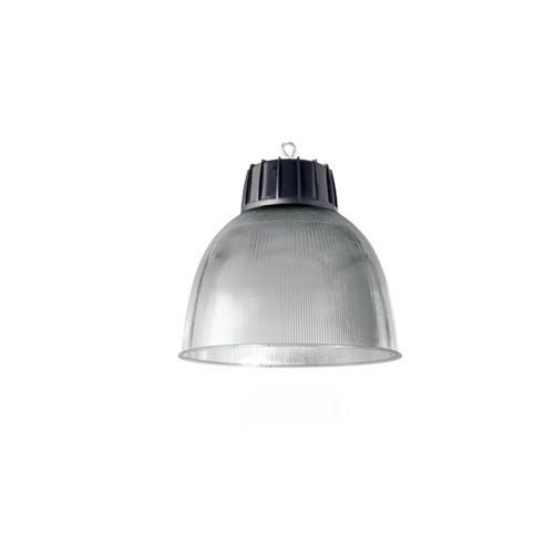 Colgante campana Policar, pantalla policarbonato translucido, 1 luz E27
