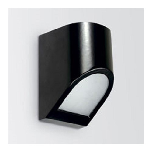 Aplique bidireccional, 1 luz E27, inyección aluminio y vidrio
