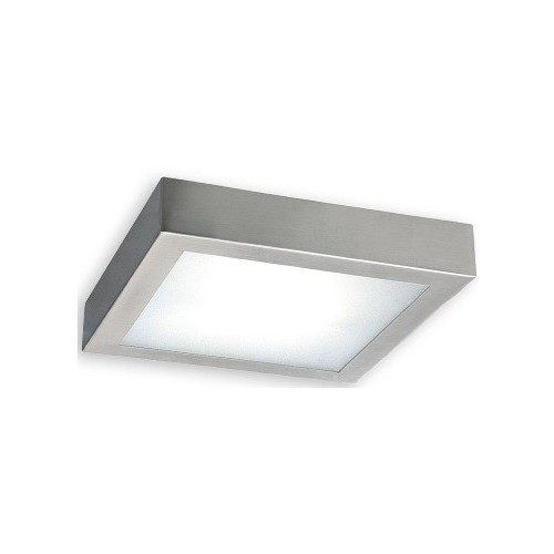 Plafón led 12w, 17x17cm 4000k platil