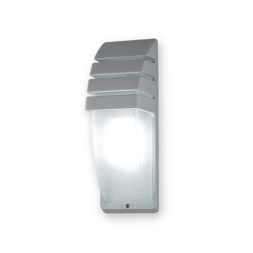 Aplique Wilbur, 1 luz E27, fundición y policarbonato