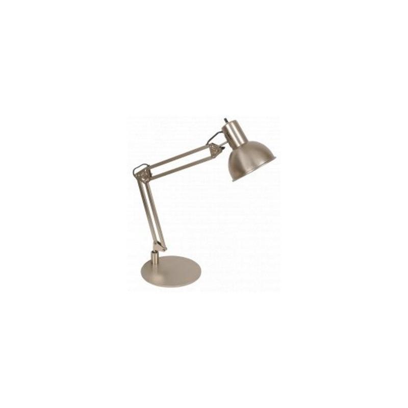 Lámpara escritorio articulada 310, acero, 1 luz E27. Apto led