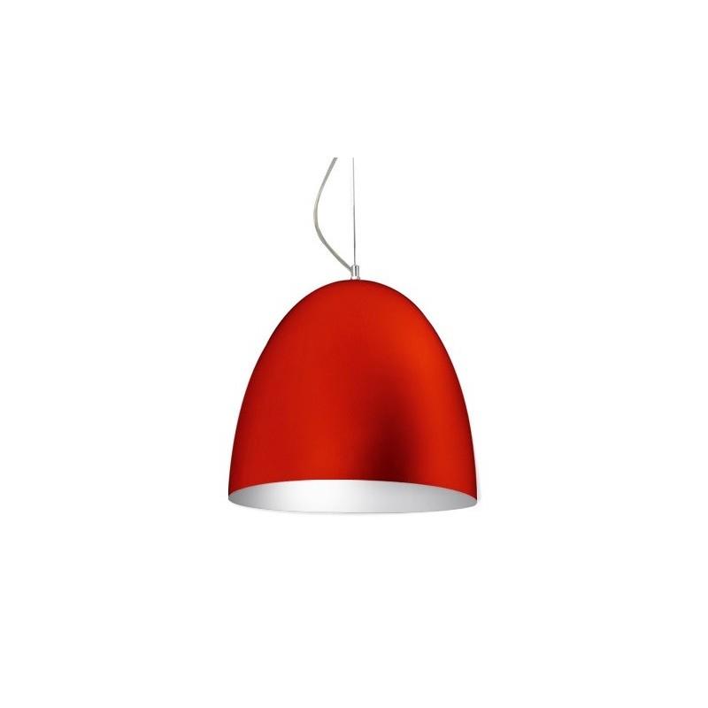 Colgante campana Wok, aluminio pintado color, 3 luces E27