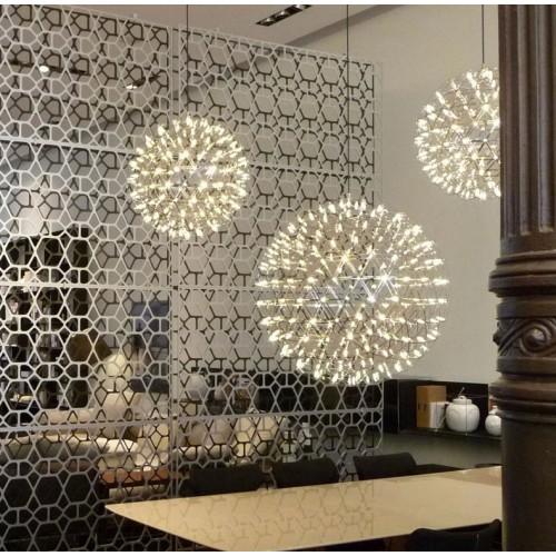 Colgante de diseño Atomo, led 30w luz cálida, Ø 65cm