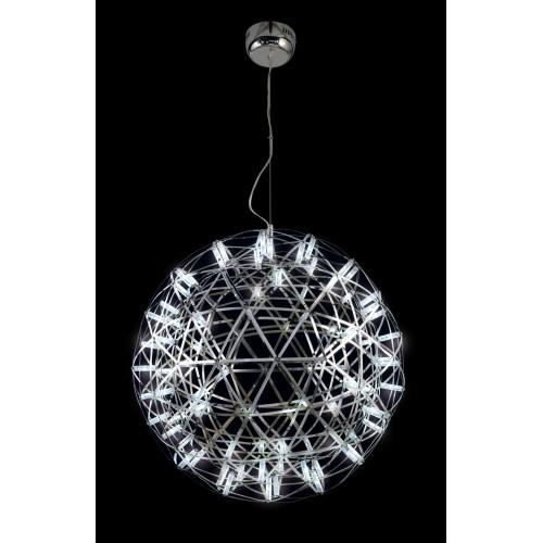 Colgante esfera de luz difusa general, inspirado en un domo geodésico