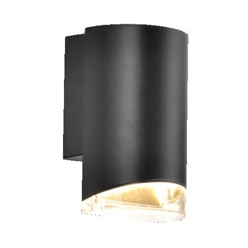 Aplique unidireccional para exterior, aluminio y policarbonato, GU10