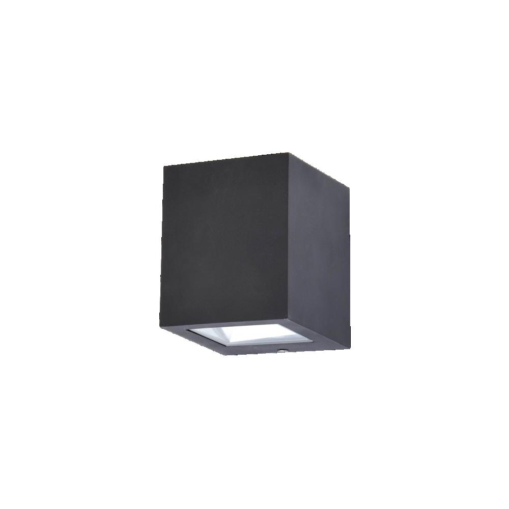 Aplique de led bidireccional para exterior aluminio y for Luz de led para exterior