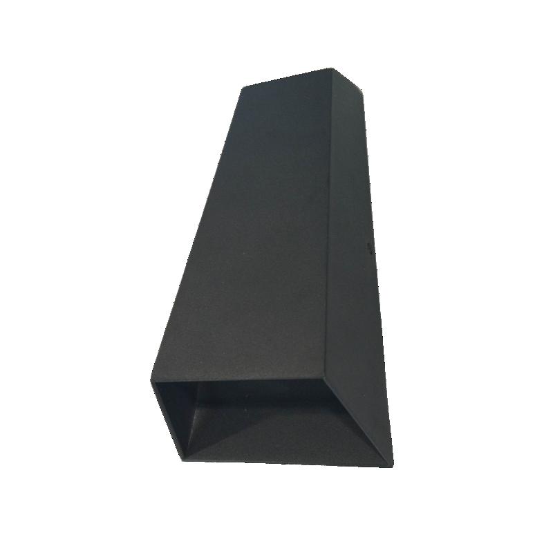 Aplique de led bidireccional, aluminio inyectado y vdrio, led 6w luz cálida