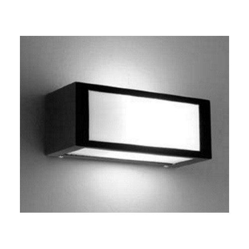 Aplique tridireccional, 1 luz E27, hierro y policarbonato
