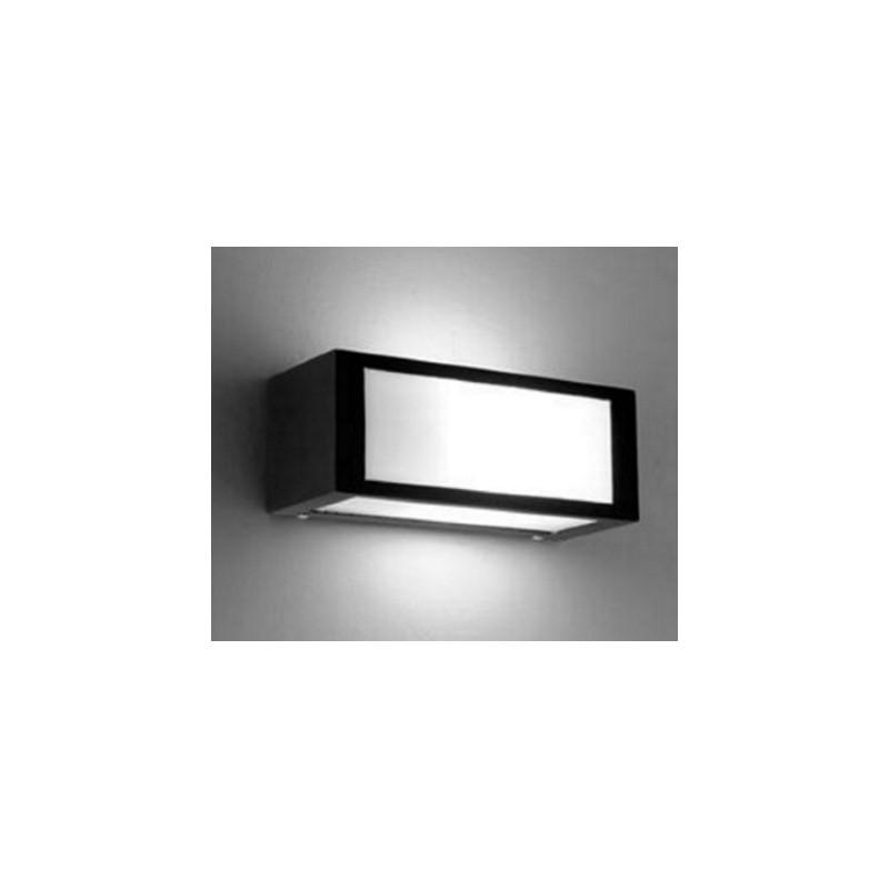 Aplique tridireccional 1104, 1 luz E27, hierro y policarbonato