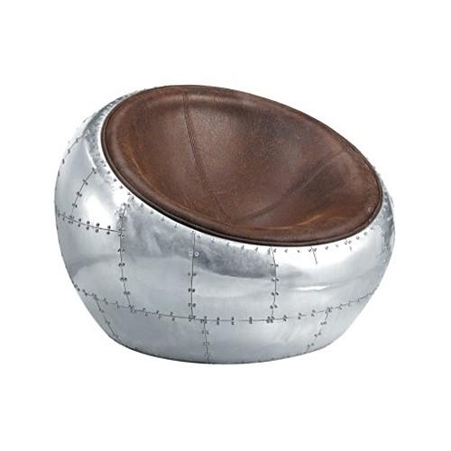 Sillón Ball, concebido como una pieza única de diseño.