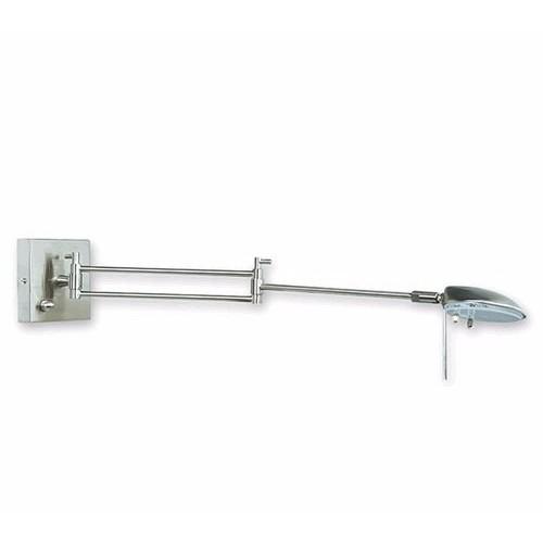 Aplique led de cabecera 5w, doble brazo articulado, encendido y regulaciòn de intensidad en la base.