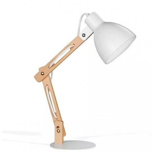 Lámpara de escritorio/velador estilo nórdico 1L E27