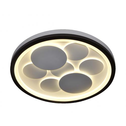 Plafón led 86w. Cambio de tonalidad de luz con control remoto: cálido, neutro y frío