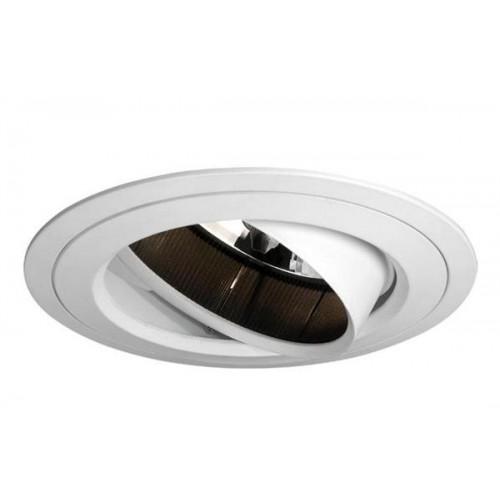 Embutido anillo interior móvil extraíble. Bafle interior antideslumbrante. Giro 360º