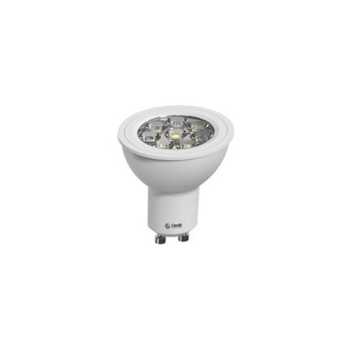 Lámpara dicroica led 4.5w luz fría, GU10, directo a 220v
