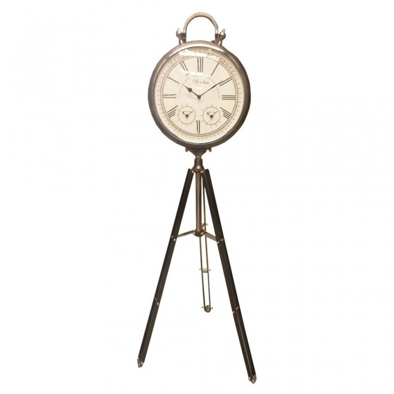 Reloj con base trípode