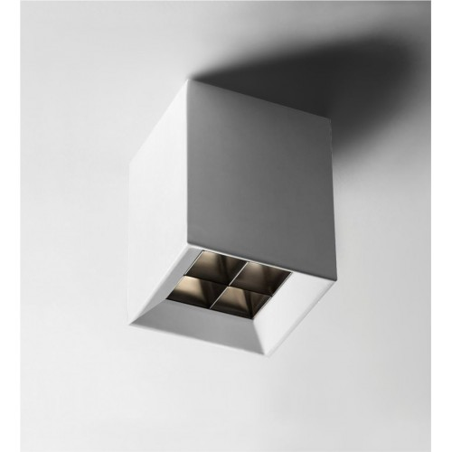 Plafón mini led 5w luz calida dimerizable con antideslumbrante