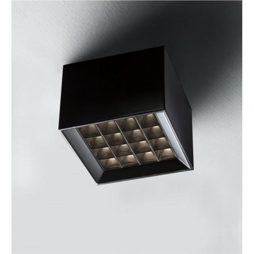 Plafón mini led 18w luz calida dimerizable con antideslumbrante