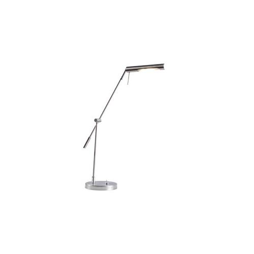 Lámpara de escritorio led , brazo y cabezal móviles