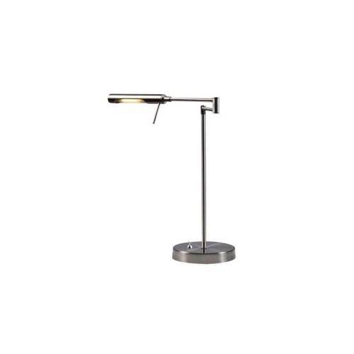 Lámpara de escritorio led, brazo articulado y cabezal móvil