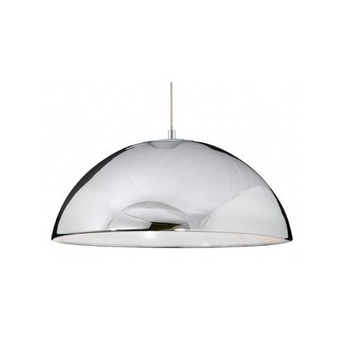 Colgante Campana cromo 40 cm 1 luz