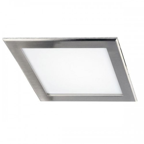 Embutido Led panel 18w, 22x22cm,  marco acero