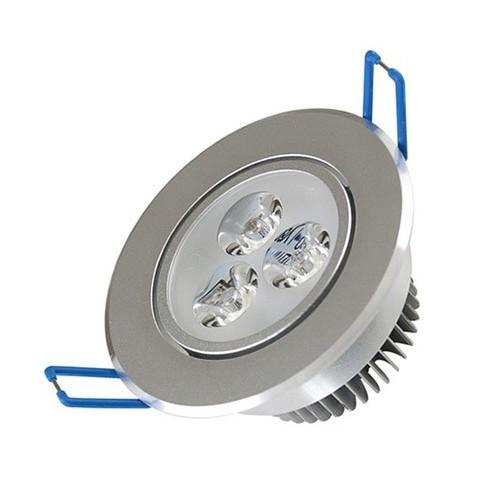Embutido móvil led 3x1w, inyección de aluminio