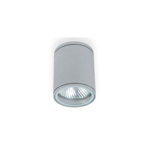 Aplique techo, 1 luz E27, fundición aluminio y cristal