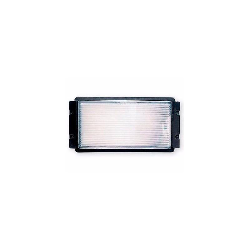 Aplique 552, 1 luz E27, fundición aluminio y vidri2