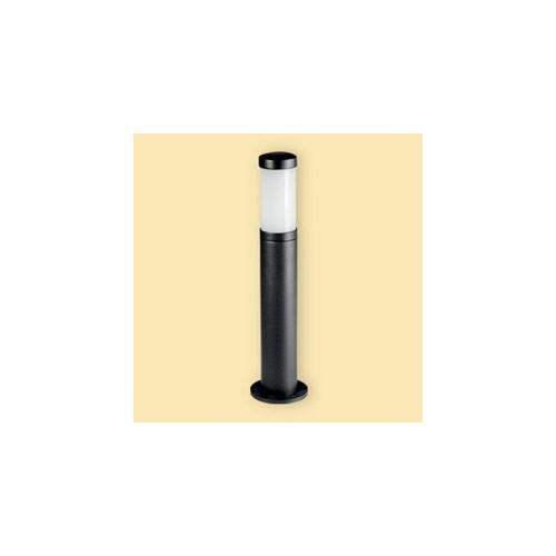 Farola fundición aluminio, 1 luz E27, visor acrílico
