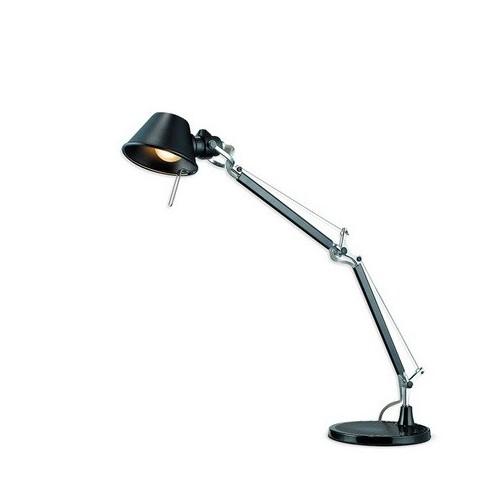 Lámpara escritorio articulada Amina M2, aluminio colores, 1 luz E14